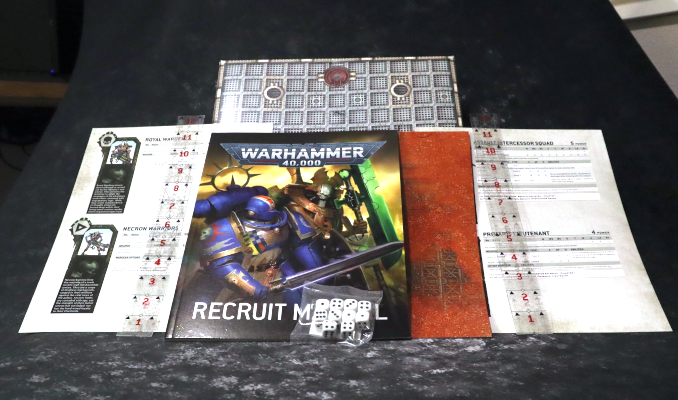 Warhammer Recruit Edition Starter Set Vollanzeige