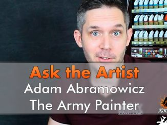 Chiedi all'artista - Adam Abramowicsz - The Army Painter - In primo piano