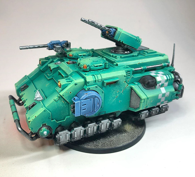 Ask the Artist - Adam Abramowicsz - The Army Painter - Fists Adelphi Tank