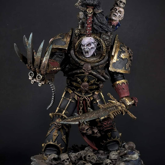 Chris Spotts - The Spotted Painter - Ask The Artist - Abaddon Forge World