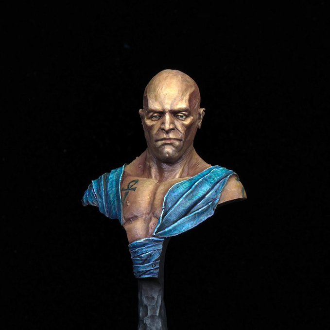Chris Spotts - The Spotted Painter - Ask The Artist - Last of the Immortals - FeR Miniatures