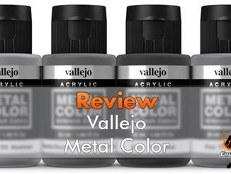 Vallejo Metal Color Review per pittori in miniatura - In primo piano