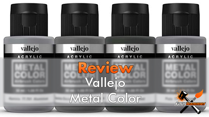 Vallejo Metal Color Review for Miniature Painters - Featured