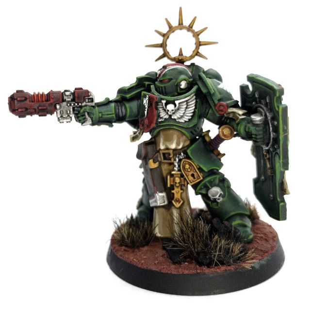 Ghost Brushed Review Primaris Lieutenant Complete 1