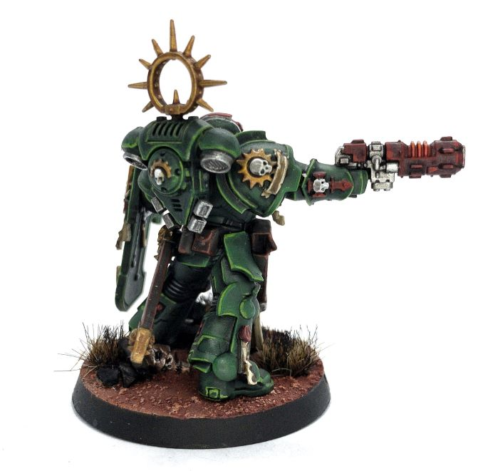 Ghost Brushed Review Primaris Lieutenant Complete 2