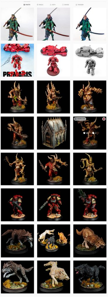 Artis Opus Series S Review for Miniatures - Instagram Models