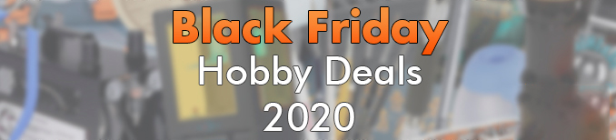 Banner del Black Friday Hobby Deals 2020