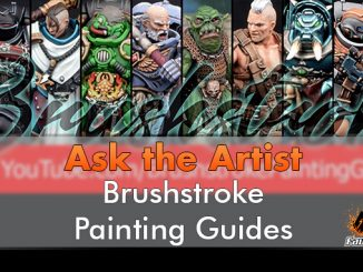 Pennellata - Ask The Artists - Brushstroke - In primo piano