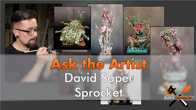 David Soper - Sprocket - Ask The Artist - En vedette