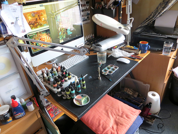 David Soper - Sprocket - Ask The Artist - Station de travail
