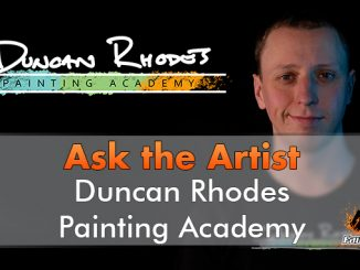 Duncan Rhodes - Ask The Artist - In primo piano