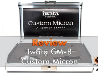 Iwata Custom Micron CM-B Airbrush Review for Miniature & Models - Featured