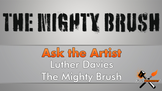 Luther Davies - The Mighty Brush - Demandez à l'artiste - En vedette