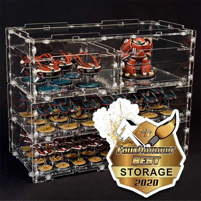 The FauxHammer Awards - Best Miniature Storage 2020 - Crystal Fortress