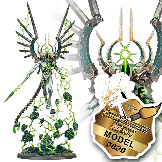 Premios FauxHammer - Mejor modelo 2020 - C'Tan Shard of the Void Dragon