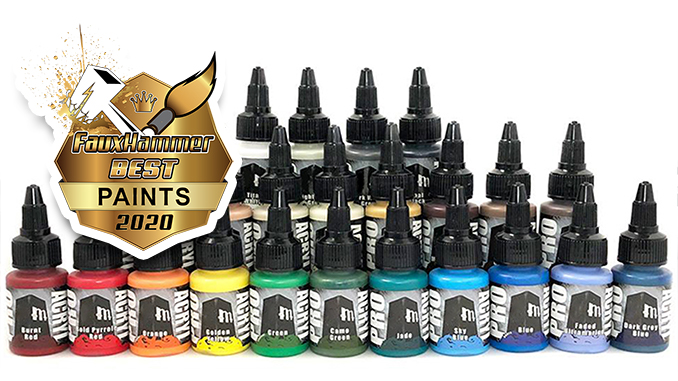 The FauxHammer Awards - Best Paints 2020 - Monument Hobbies Pro Acryl