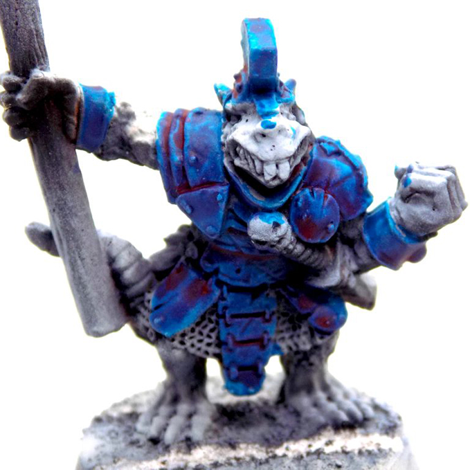 Warcolours Anthesis Review - Schattierung
