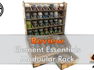 Element Essentials Modular Paint Rack Review - Featured