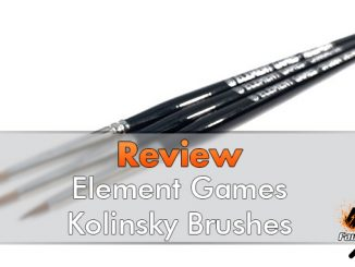 Element Games Kolinsky Brushes Review - Featured