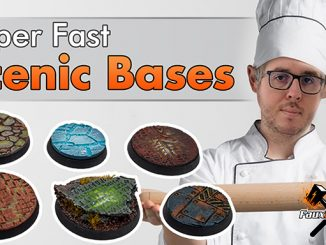 How to Make Sceninic Bases - Featured