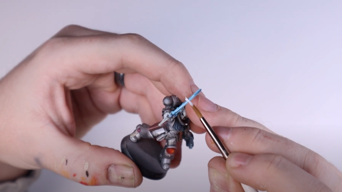 How to Paint Power Swords - 17