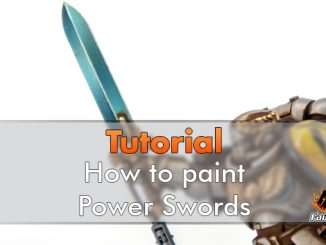 How to Paint Power Swords - Featured