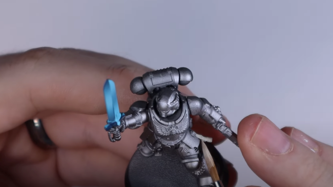 How to Paint Silver Templars - 13