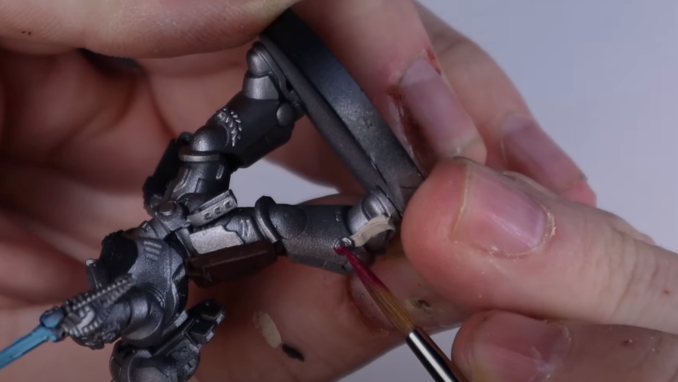 How to Paint Silver Templars - 22