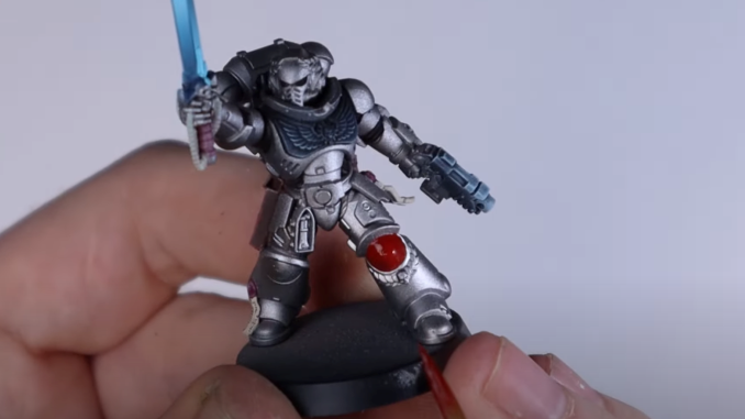 How to Paint Silver Templars - 26