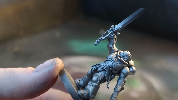 How to Paint Silver Templars - 3