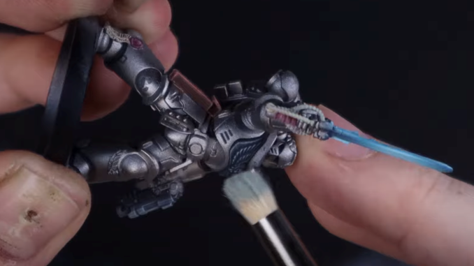How to Paint Silver Templars - 38