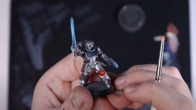 How to Paint Silver Templars - 45