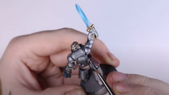 How to Paint Silver Templars - 47