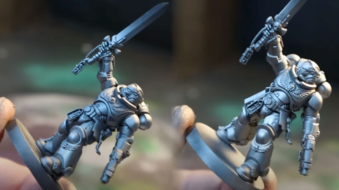 How to Paint Silver Templars - 5