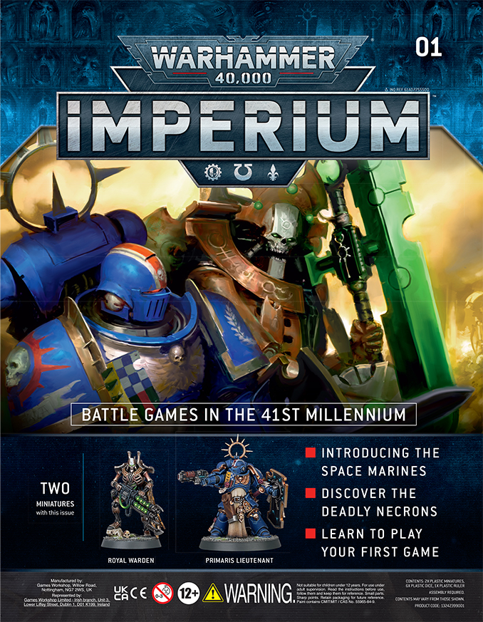 Warhammer Imperium Magazine - Issue 1 Cover