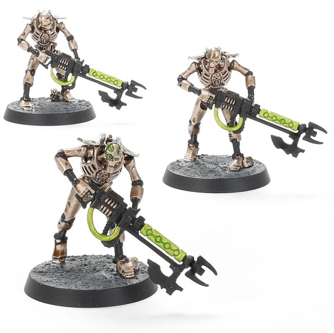 Warhammer Imperium Magazine - Issue 2 Contents - 3 Necron Warriors