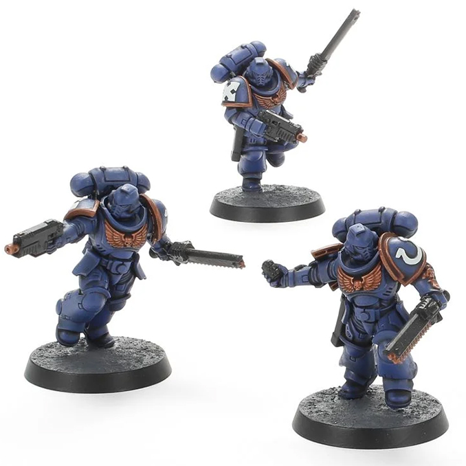 Warhammer Imperium Magazine - Issue 3 Contents - 3 Assult Space Marines