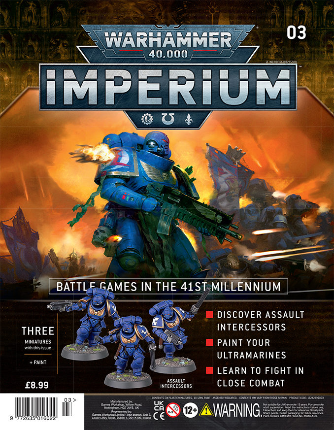 Warhammer Imperium Magazine - Issue 3 Cover