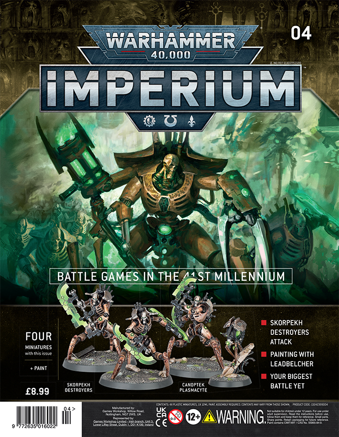 Warhammer Imperium Magazine - Issue 4 Cover