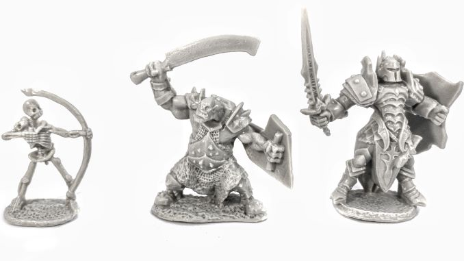 Reaper Miniatures Core Skills Set Models Unpainted