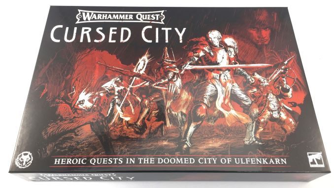 Warhammer Quest Cursed City Unboxing Box