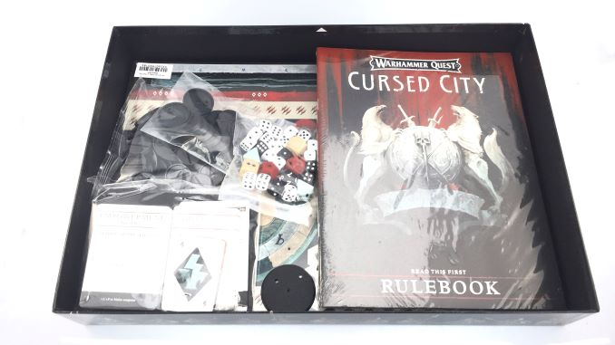 Warhammer Quest Cursed City Unboxing 4