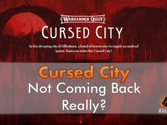 Warhammer Quest Cursed City - Not Coming Back - In primo piano