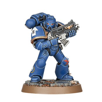 Space Marine Heroes Fratello Castor