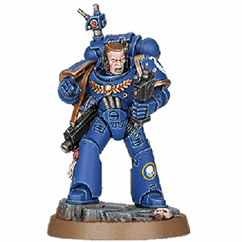Space Marine Heroes Brother Dolor - Space Marine Adventures Frostclaw Gabriel