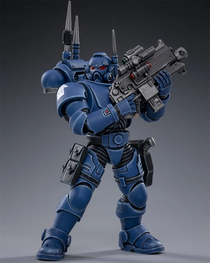 Joy Toy 4 pouces Warhammer Space Marine Figurines - Infiltrator Brother Cyrus