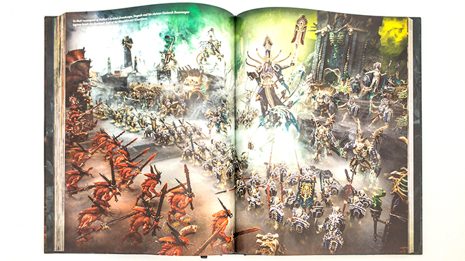 Warhammer Age of Sigmar Dominion Review – Limited Edition Rulebook – Artwork