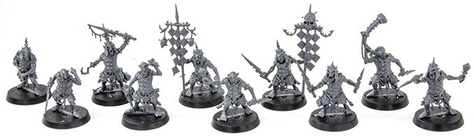 Warhammer Age of Sigmar Dominion Review - Modelle - Hobgrot Splittaz A