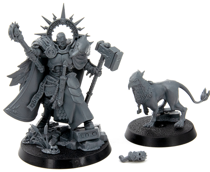 Warhammer Age of Sigmar Dominion Review - Modelle - Lord-Imperitant & Gryph-hound