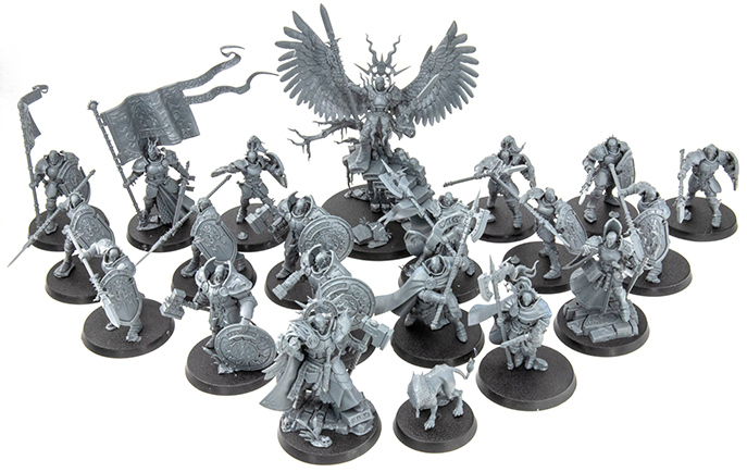 Warhammer Age of Sigmar Dominion Review - Modelle - Stormcast Eternals Army